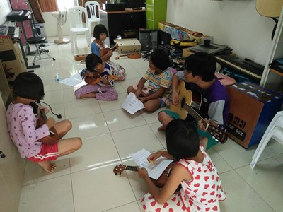 English and Music course